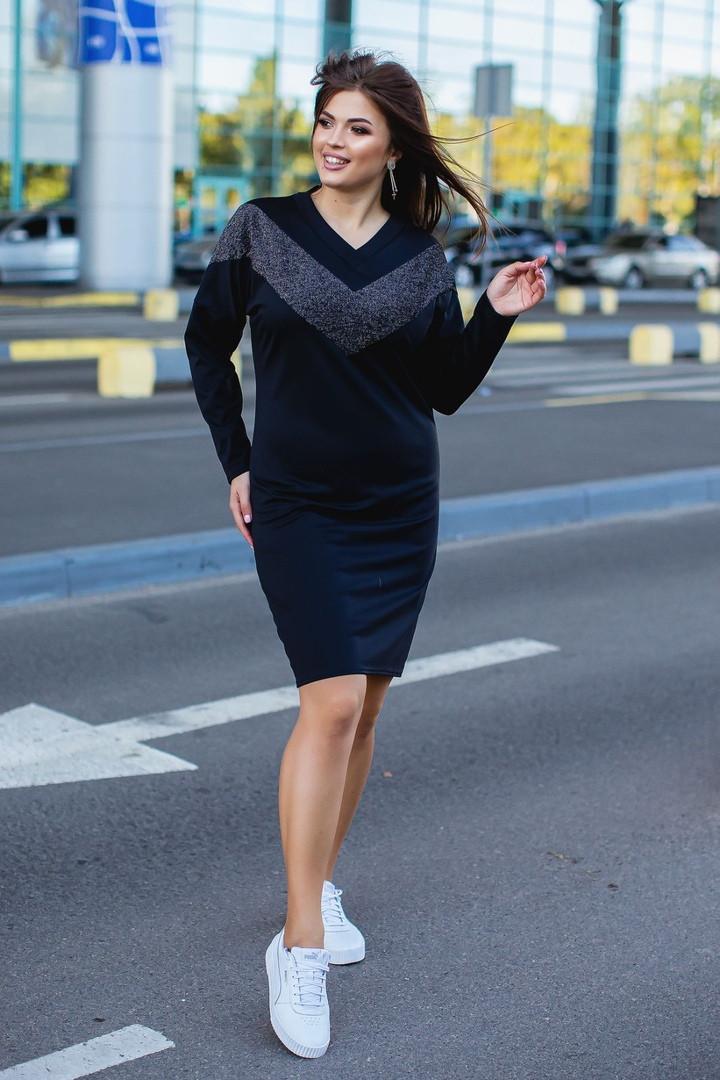 Женское модное платье  ОС913-1 (бат)