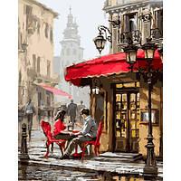 Картина по номерам Brusme Лондонское кафе