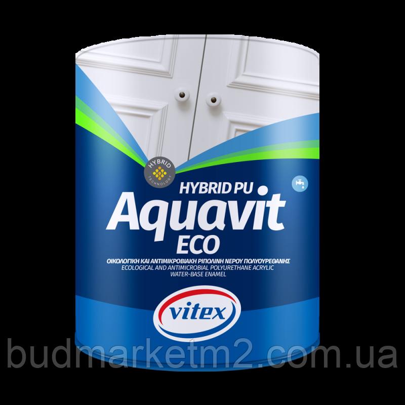 Vitex Aquavit Eco W. Based En. Paint -  Mat white 750мл