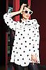 Блуза в горох Noche Mio VALSE 6.051