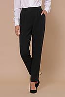 Классические однотонные женские прямые черные брюки с высокой талией Бакси брюки