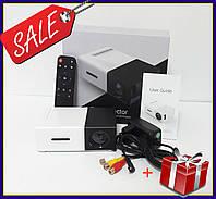 Портативный проектор Projector LED YG300 Mini с динамиком мультимедийный карманный проектор  черный