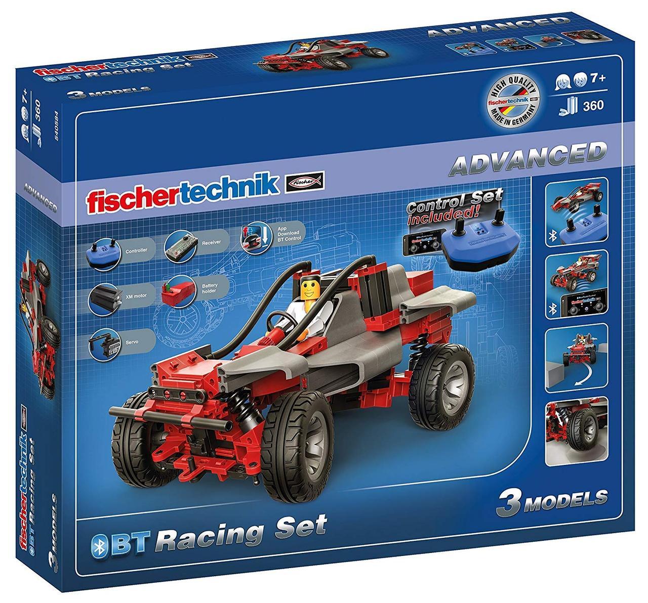 Ігровий набір Fischer Technik 540584 BT Racing Set