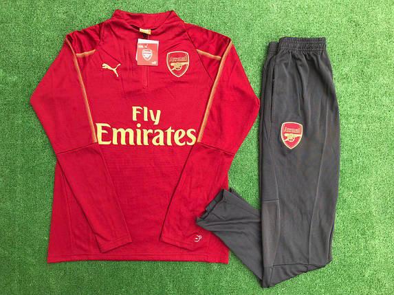 Спортивный (тренировочный) костюм Puma Arsenal (реплика), фото 2