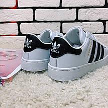 Кроссовки женские Adidas Superstar (реплика) 0004 ⏩ [ 36,37,38,39,40 ], фото 2