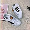 Кроссовки женские Adidas Superstar (реплика) 0004 ⏩ [ 36,37,38,39,40 ], фото 5