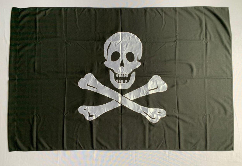 Пиратский флаг Э́дварда И́нглэнда (Аппликация) - (1м*1.5м)