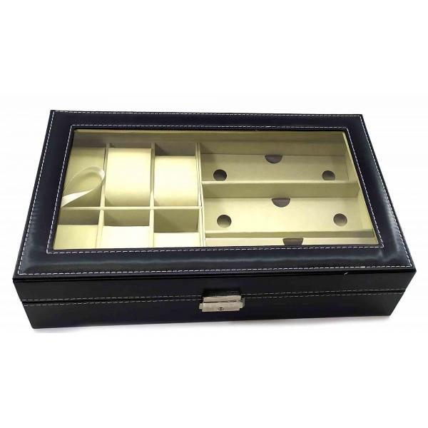 Оригінальна скринька для окулярів і годинників