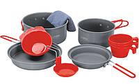 Набор посуды Terra Incognita Tri Серый с красным (TI-TRI)