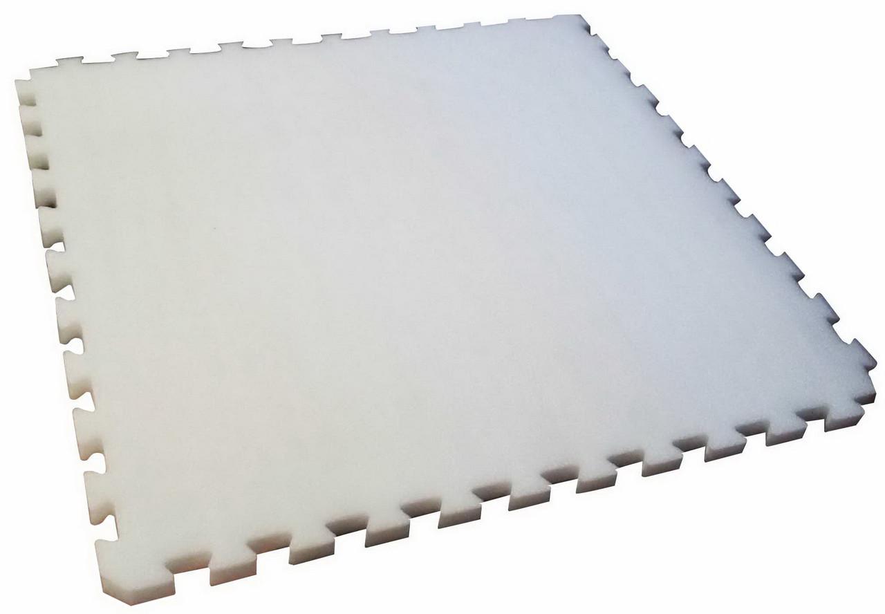 Мат IZOLON AIR ласточкин хвост 20 мм (Белый)