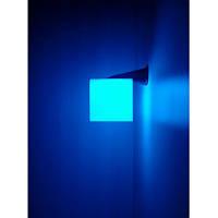Настенный светильник Куб 20х20см с RGB подсветкой, фото 1