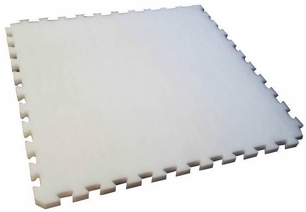 Мат IZOLON AIR ласточкин хвост 30 мм (Белый), фото 2