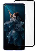 Защитное стекло Full screen PowerPlant для Honor 20 Pro, Black