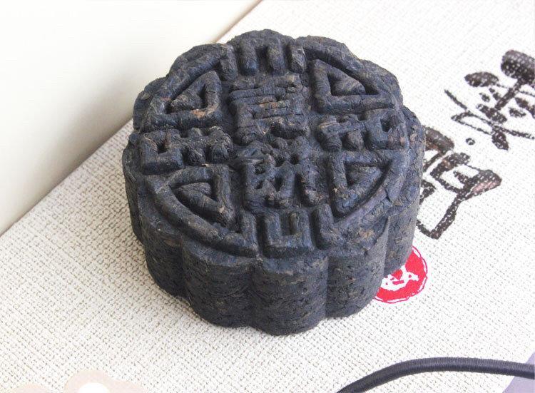 Пуэр Шу фигурный коллекционный 2008 г, Мэнгхай, 150 г.