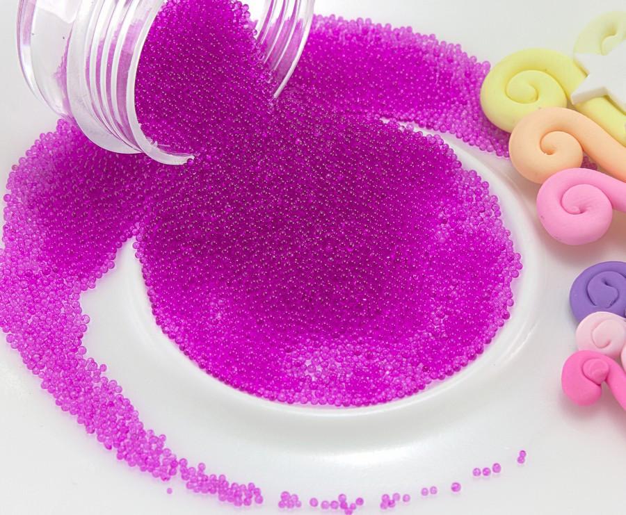 (Цена за 20 грамм) Микробисер (бульонки) присыпка (размер ≈0.6мм)  Цвет -