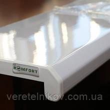 ПодоконникиDanke Komfort (Данке Комфорт) Белый глянец.