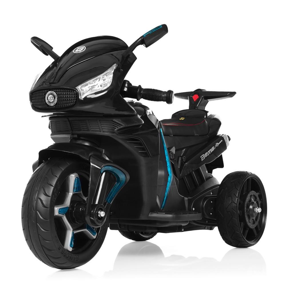 Электромобиль Мотоцикл M 3965EL-2 черный BAMBI