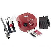 Фрезер для ногтей Nail Drill Master ZS-601 35000 об. (Красный)