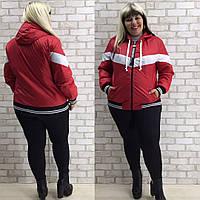 Женская осенняя куртка  ОС909-2 (супербат), фото 1