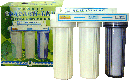 Фильтр под мойку 3-х ступенчатый Водолей БКП Арго (цеолит, уголь, шунгит, для очистки воды от примесей, хлор), фото 2