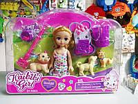 Кукла с собачками и аксессуарами