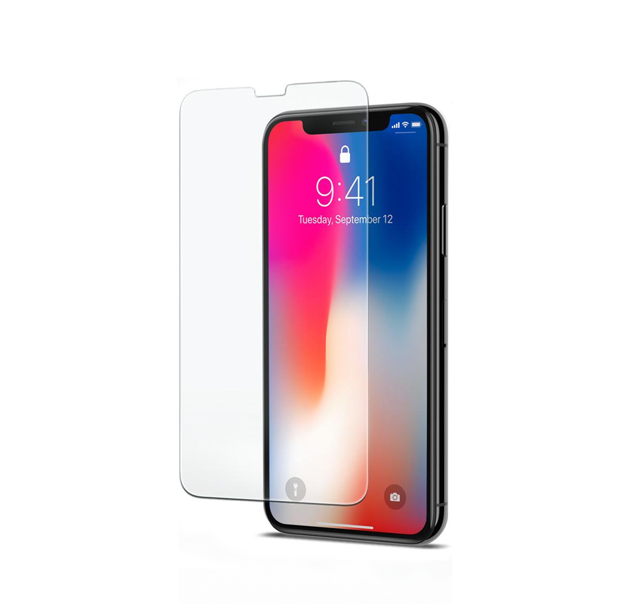 Защитное стекло Curved Glass с УФ клеем для iPhone 11 Pro Max/ iPhone XS Max Прозрачный (19799)