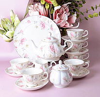 Фарфоровый чайный набор на Лаура на 16 предметов 943-162