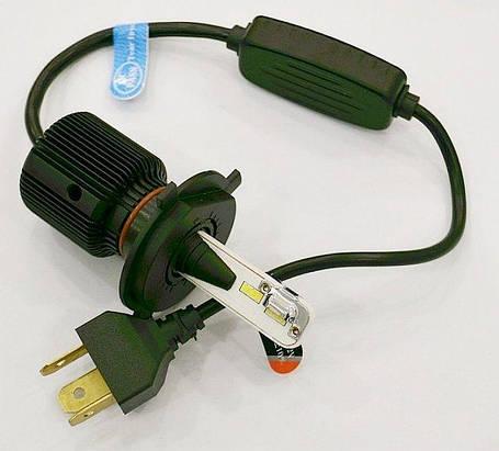 Светодиодные лампы LED STELLAR F1 H4 Can-Bus, фото 2