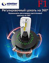 Светодиодные лампы LED STELLAR F1 H4 Can-Bus, фото 3
