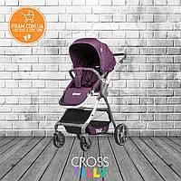 Прогулочная коляска Tilly Cross T-171 Purple Фиолетовый