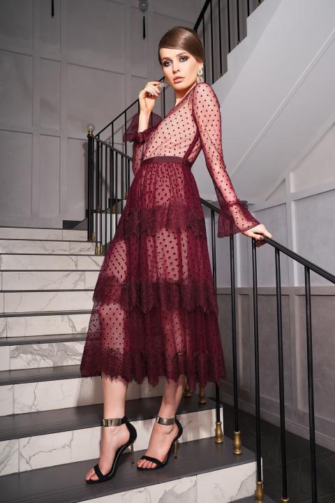 Платье женское нарядное RONDO 1.075 Noche Mio