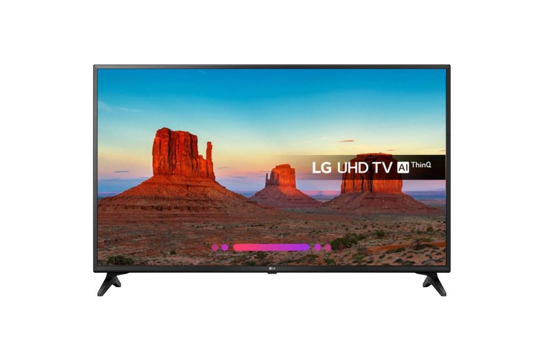 Телевизор 4К UHD LED LG 55UK6200PLA