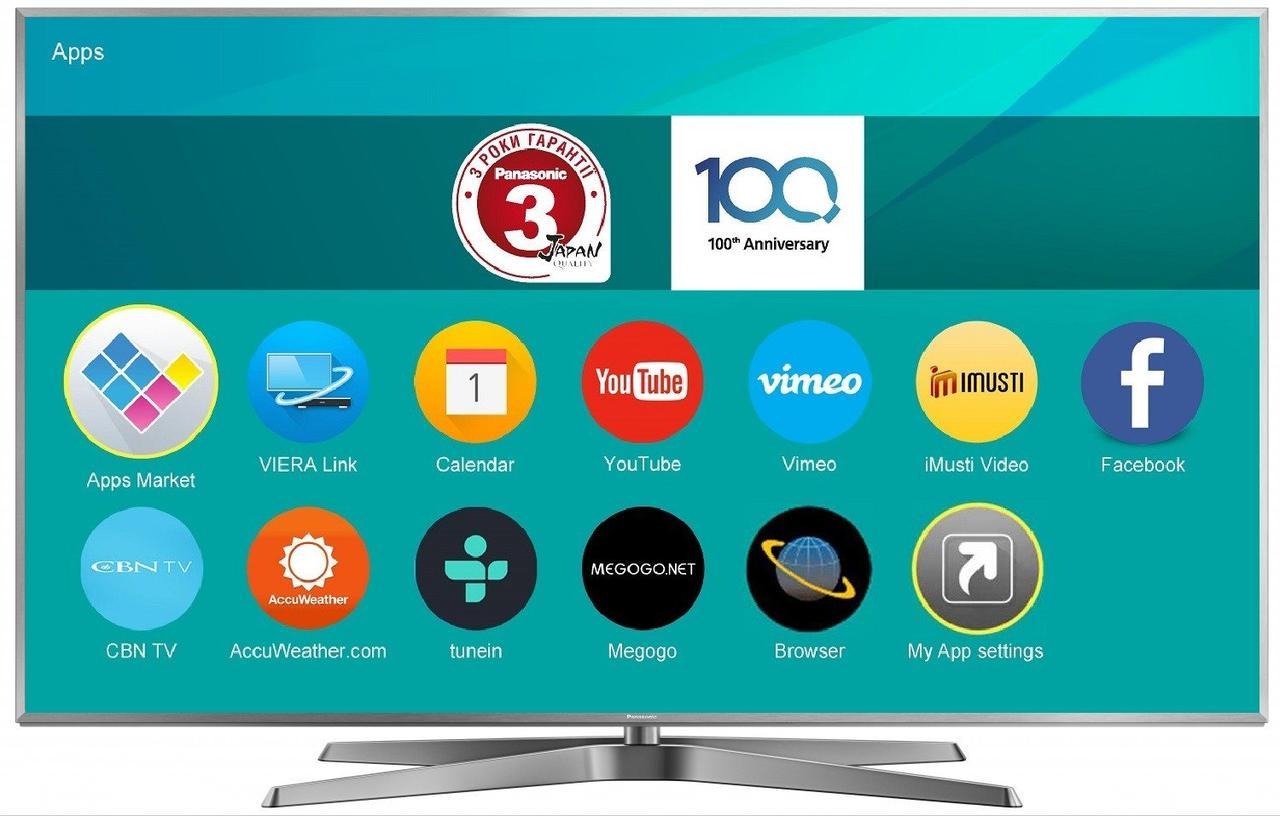 Телевизор 4K Ultra HD LED Panasonic TX-75FXR780