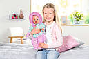 Беби Борн Кукла Зимняя Красавица Нежные объятия 43 см Baby Born Zapf 827529, фото 4