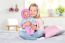Беби Борн Кукла Зимняя Красавица Нежные объятия 43 см Baby Born Zapf 827529, фото 5