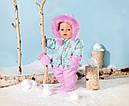 Беби Борн Кукла Зимняя Красавица Нежные объятия 43 см Baby Born Zapf 827529, фото 3