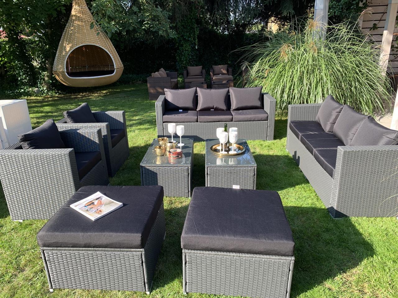 Роскошный комплект мебели из ротанга Borneo XXL!