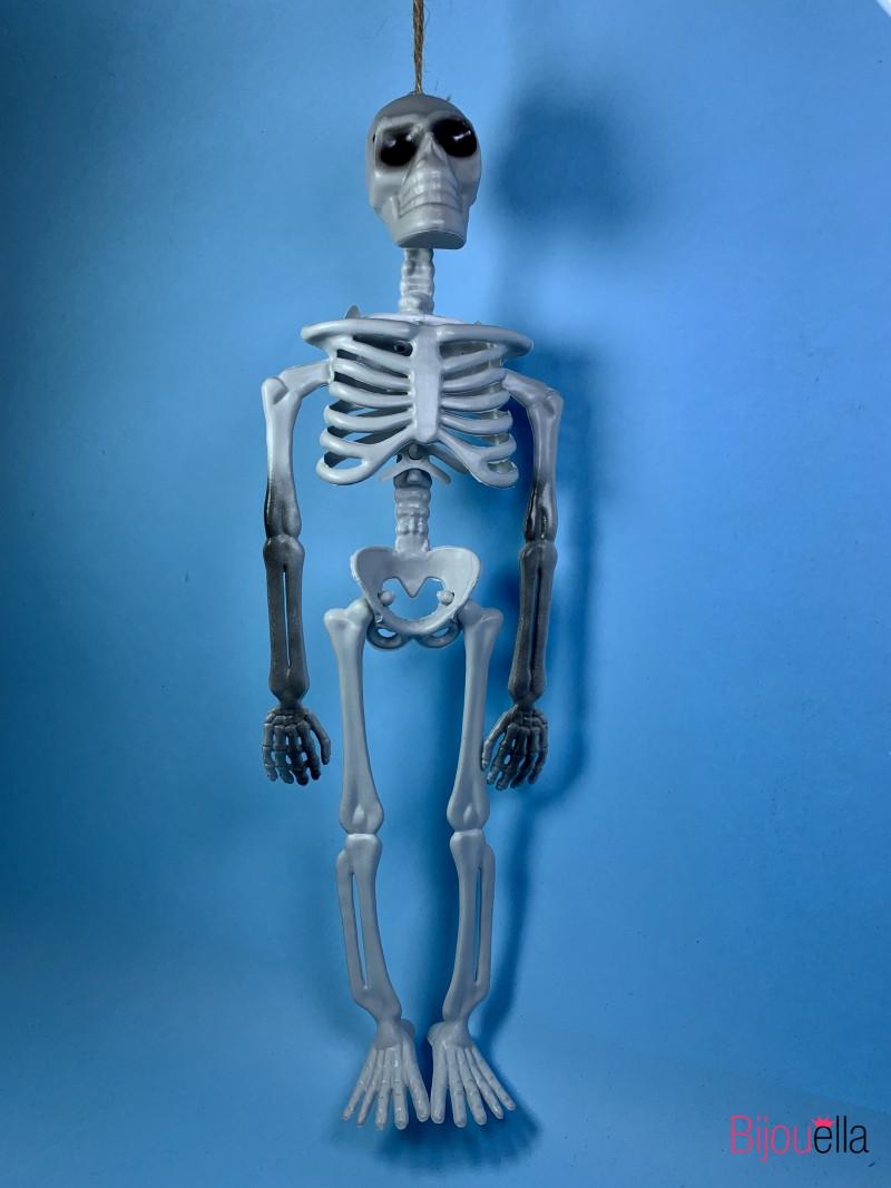 Подвесной декоративный скелет украшения для праздника Хеллоуин 10*33 см