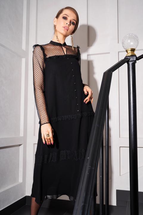 Платье нарядное VODEVILLE 1.082 Noche Mio, черное, фото 1