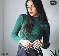 Женский стильный свитер под горло Разные цвета