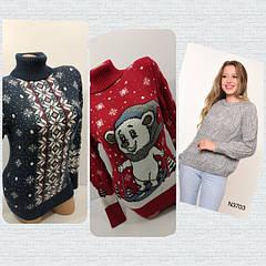 Вязаные свитера коллекция зима 2019-2020