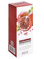 Питательный крем для рук с экстрактом граната Jigott Real Moisture Pomegranate Hand Cream 100 мл