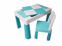Столик и стульчик Tega Baby MULTIFUN (стол+ стул) цвет бирюза