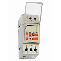 Таймер тижневий Т15 цифровий 16А 230В з акумулятором на DIN-рейку ElectrO THC15EA