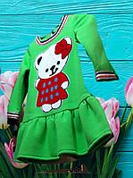 Платье на девочку осеннее