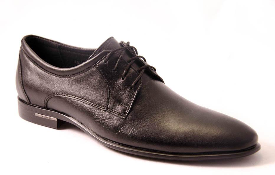 Туфли мужские черные Romani 5712105 р.40-45