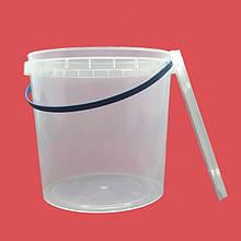 Ведро пластиковое для пищевых продуктов 3,3 л
