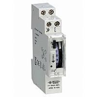 Таймер добовий Т15-А електромеханічний 16А 230В з акумулятором на DIN-рейку ElectrO T15AЕМА