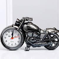 Детские настольные часы-будильник Мотоцикл