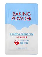 Пінка для глибокого очищення обличчя Etude Baking Powder B. B. Deep Cleansing Foam 2 мл Пробник